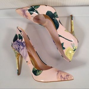 Ted Baker London Shoes - Ted Baker Pink Rose Stiletto High Heels Size 11